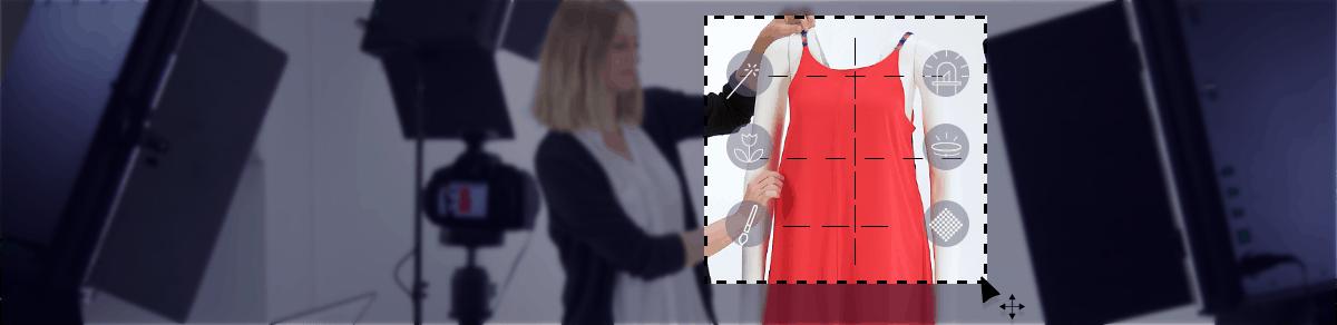 fotografia de ropa en estudio foto packshot