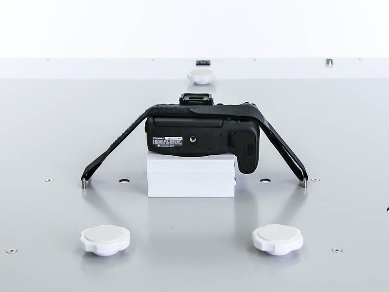 fotografia plana de productos dentro del estudio PackshotCompact