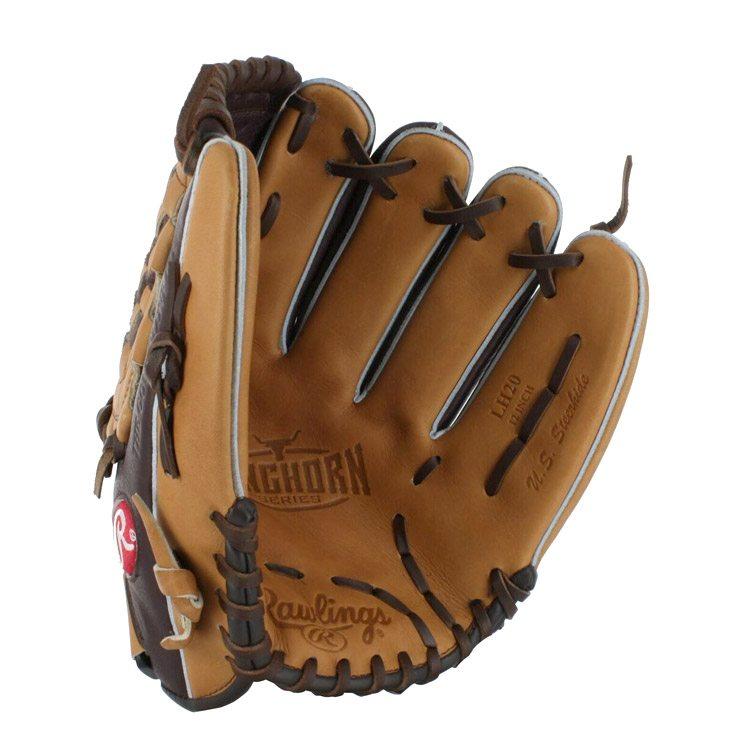 Ejemplos de productos deportivos fotografía guante de béisbol para tiendas online