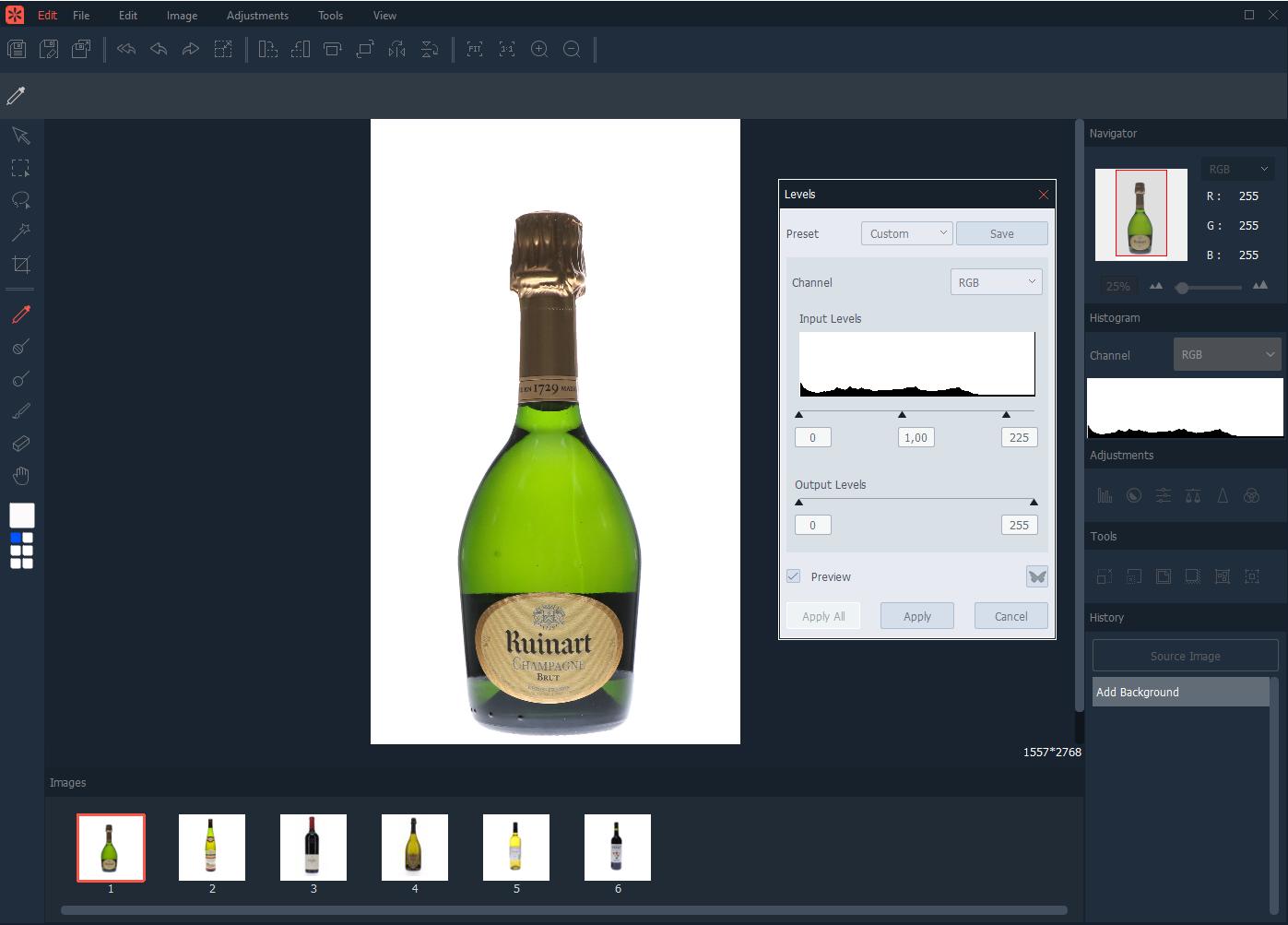 cómo editar múltiples fotos simultáneamente