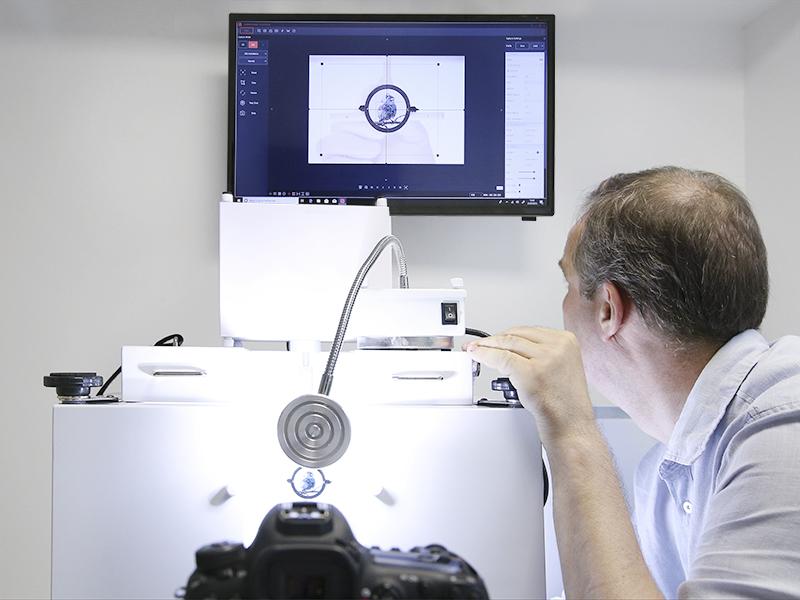 Estudio foto 360 automatizado para fotos de productos