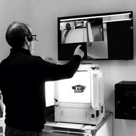 implementacion de un estudio foto via pantalla compartida