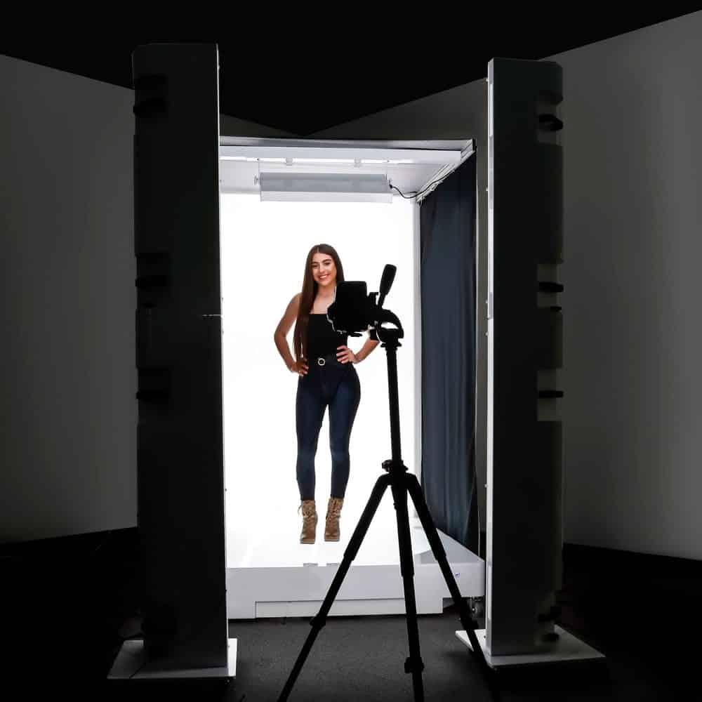 estudio fotografico 360 automatizado ecommerce