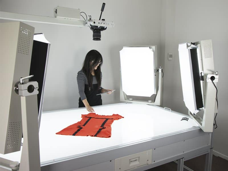 packshot light table studio