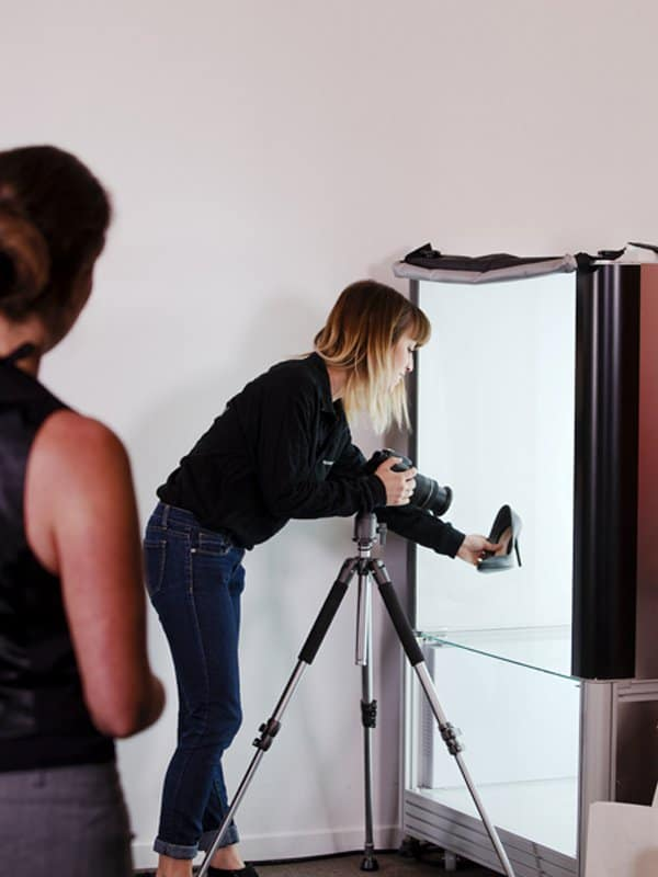 tomar fotos fijas usando un estudio fotográfico automatizado