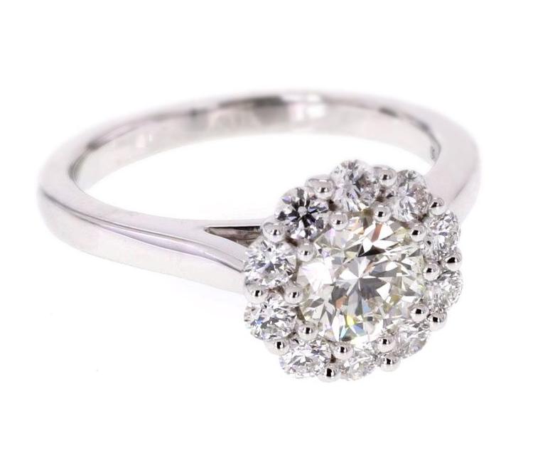Fotografia de anillo de mujer sin Hyperfocus