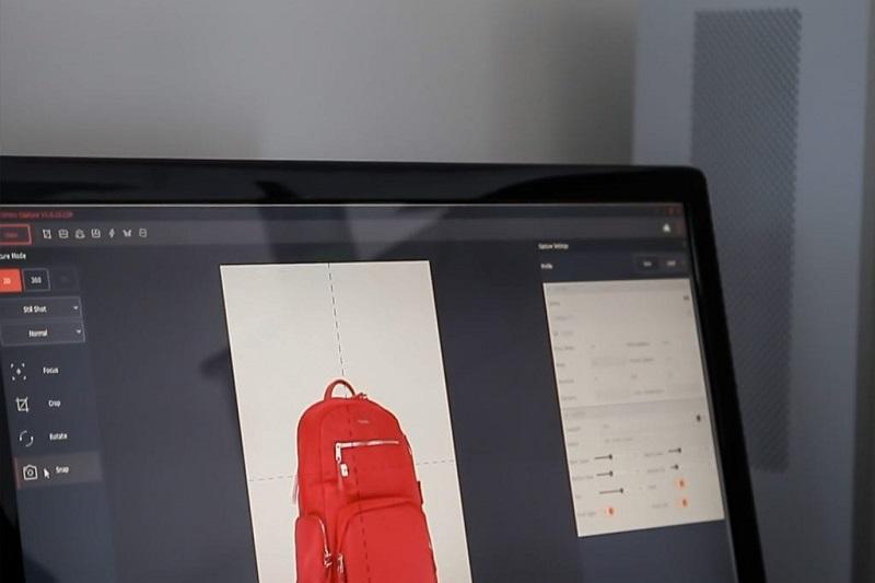 software PackshotCreator 2019 photographies de produits, animations à 360°