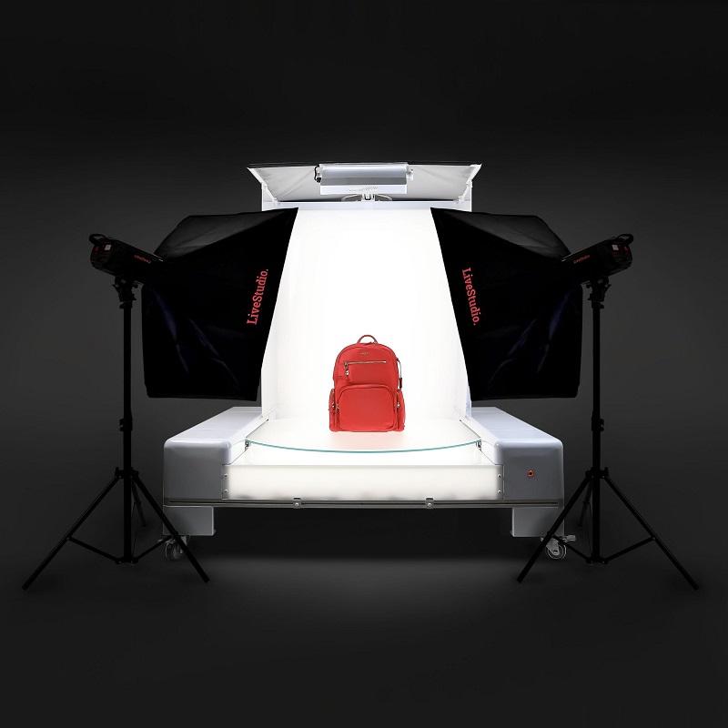 estudio foto y sistema de luz led para fotografia de productos