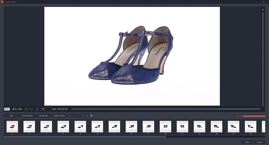 cómo crear una foto animada en 360° a partir de un video