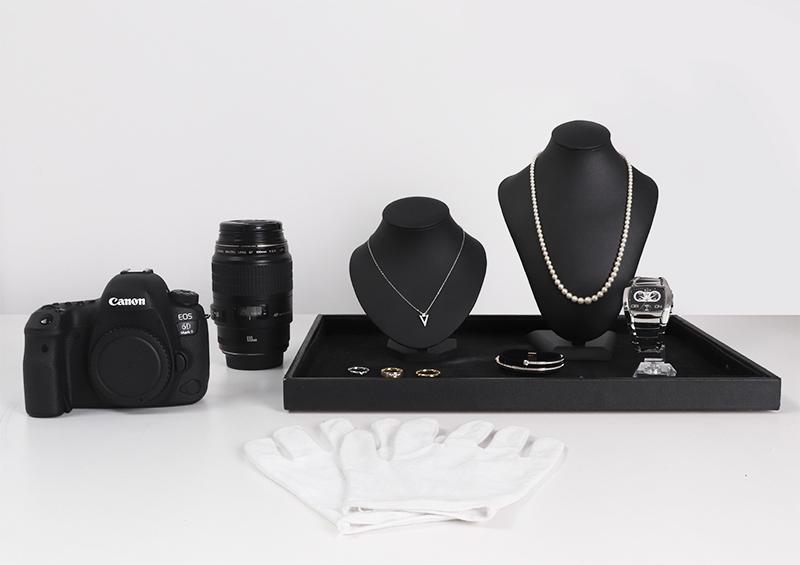 ¿Qué equipamiento utilizar para la foto de joyería, relojes o piedras preciosas?